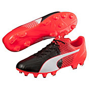 PUMA Men's evoSPEED 3.5 Leather FG Soccer Cleats