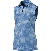 PUMA Women's Johnny Sleeveless Golf Polo