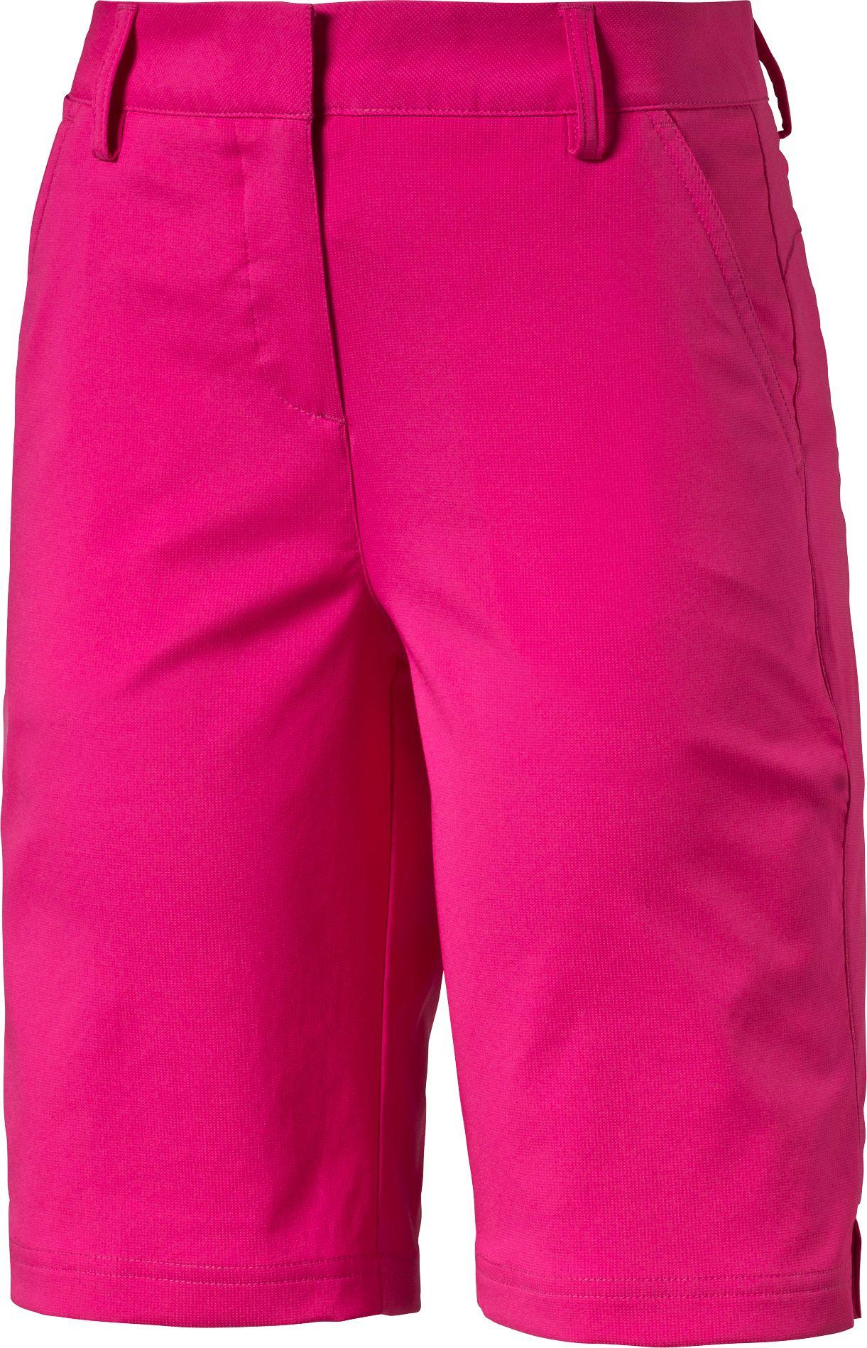 puma purple cycling shorts