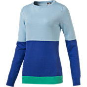 Puma Women's Colorblock Golf Sweater