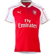 PUMA Youth Arsenal 15/16 Replica Home Jersey