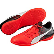 PUMA Kids' evoPOWER 4.3 IT Indoor Soccer Shoes