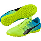 PUMA Kids' evoPOWER 4.3 TT Soccer Cleats