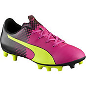 PUMA Kids' evoSPEED 5.5 Tricks FG Soccer Cleats