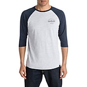 Quiksilver Men's Last Call 3/4 Sleeve Raglan T-Shirt
