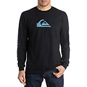 Quiksilver Men's Mountain & Wave Logo Long Sleeve Shirt