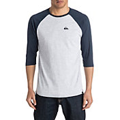 Quiksilver Men's Mountain & Wave Raglan Shirt