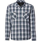 Quiksilver Men's Tippers 2 Button Up Long Sleeve Shirt
