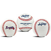 Rawlings Atlanta Braves Logo Baseball