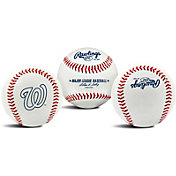 Rawlings Washington Nationals Logo Baseball