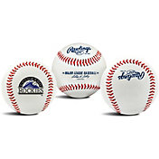 Rawlings Colorado Rockies Logo Baseball