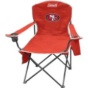 Coleman San Francisco 49ers Quad Chair with Cooler