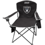 Coleman Oakland Raiders Quad Chair with Cooler