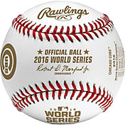 Rawlings MLB 2016 World Series Official Game Baseball w/ Display Case