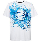 Reebok Boys' Splash Ball Graphic Basketball T-Shirt