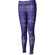 Reebok Girls Cold Weather Printed Tights