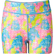 Reebok Girls' 3'' WWC Printed Fitted Shorts