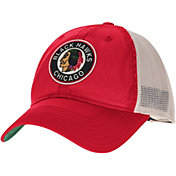 CCM Men's Chicago Blackhawks Red Slouch Adjustable Hat