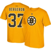 Reebok Men's Boston Bruins Patrice Bergeron #37 Away Player T-Shirt
