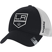 Reebok Men's Los Angeles Kings Center Ice Slouch Black Flex Hat