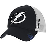 Reebok Men's Tampa Bay Lightning Center Ice Slouch Black Flex Hat