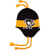Reebok Men's 2017 NHL Stadium Series Pittsburgh Penguins Tassel Knit Hat