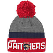 Reebok Men's Florida Panthers Center Ice Cuffed Pom Knit Hat