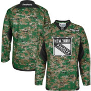 Reebok Men's New York Rangers Digital Camouflage Practice Jersey