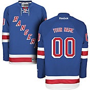 Reebok Men's New York Rangers Custom Premier Replica Home Jersey