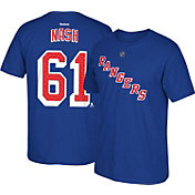 Reebok Men's New York Rangers Rick Nash #61 Home Player T-Shirt.
