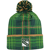 Reebok Men's New York Rangers St. Patrick's Day Cuffed Knit Hat