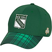 Reebok Men's New York Rangers St. Patrick's Day Flex Hat