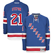 Reebok Men's New York Rangers Derek Stepan #21 Premier Replica Home Jersey