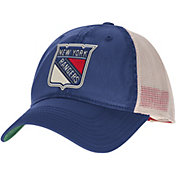 CCM Men's New York Rangers Blue Slouch Adjustable Hat