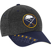 Reebok Men's Buffalo Sabres Heather Grey Center Ice Playoff Flex Hat
