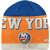 CCM Men's New York Islanders Wordmark Knit Beanie