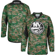 Reebok Men's New York Islanders Digital Camouflage Practice Jersey