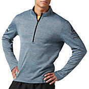 Reebok Men's Running Half Zip Long Sleeve Shirt