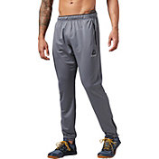 Reebok Men's Workout Ready Stacked Logo Trackster Pants
