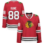 Reebok Women's Chicago Blackhawks Patrick Kane #88 Home Red Premier Jersey