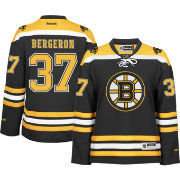 Reebok Women's Boston Bruins Patrice Bergeron #37 Premier Replica Home Jersey