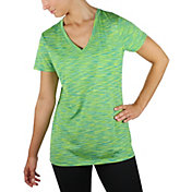 Reebok Women's Spacedye Melange Vector T-Shirt