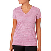 Reebok Women's Honeycomb Melange Vector Plus Size T-Shirt