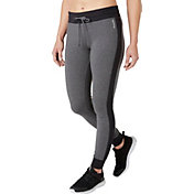 Reebok Women's Plus Size Tight Fit Heather Jogger Pants