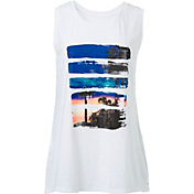 Reebok Women's Plus Size Sunset Graphic Muscle Tank Top