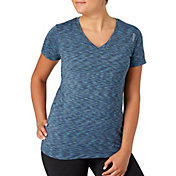 Reebok Women's Plus Size Novelty Vector T-Shirt