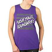 Reebok Women's Plus Size Push Your Boundaries Graphic Tank Top