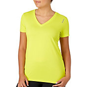 Reebok Women's Plus Size Solid Vector T-Shirt