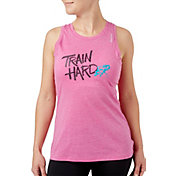 Reebok Women's Train Harder Graphic Tank Top
