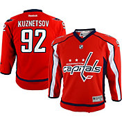 Reebok Youth Washington Capitals Evgeny Kuznetsov #92 Home Player T-Shirt